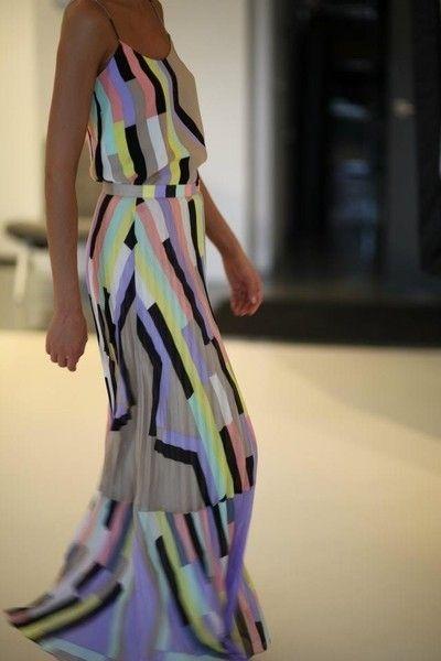 Vertical stripes!: Long Dresses, Colors Combos, Summer Dresses, Maxi Dresses, Fashion, Style, Summer Maxi, Maxis, Maxidress