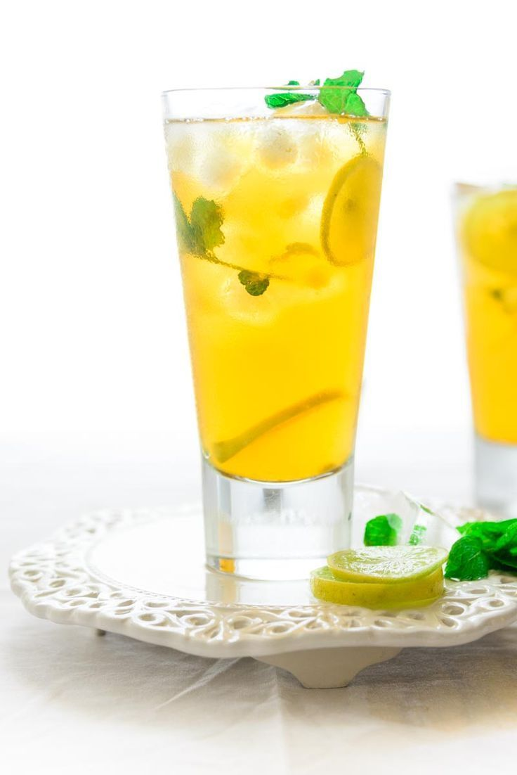Coconut Lemon Iced Tea is a refreshing beverage perfect for the summers. Here is a simple recipe to make it at home using simple ingredients. #Drink #Beverage #SummerCooler #Summer #Healthy