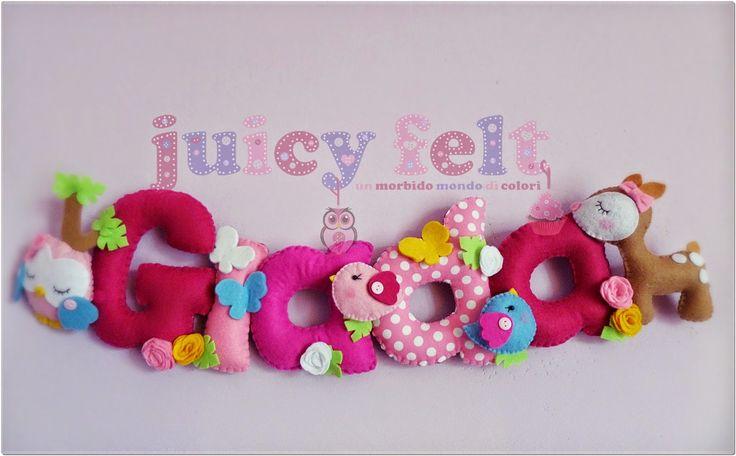 Juicy felt: I banner incantati di Juicy Felt