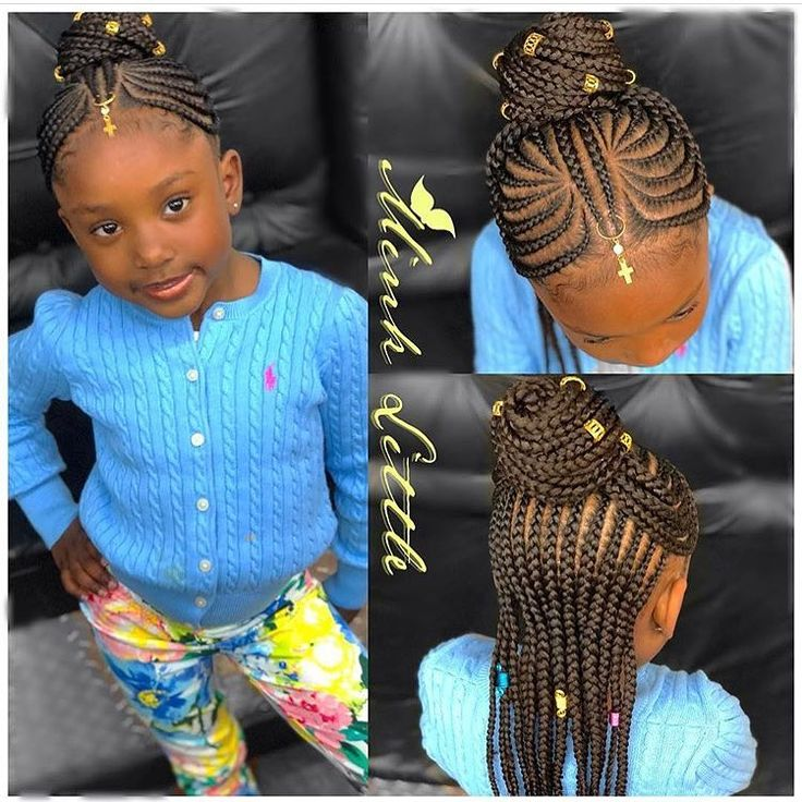 Black Little Girls Hairstyles 13 Best Braided Hair Images On Pinterest  Black Girls Hairstyles