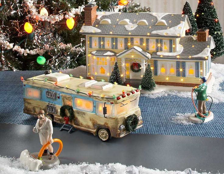 OMGeeee  Dept 56 Christmas Vacation Village Clark Griswold Chevy Chase