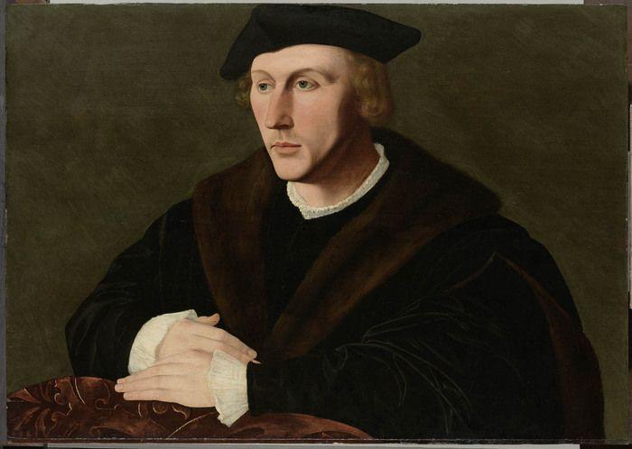 Ян ван Скорел (Jan van Scorel) (1495 - 1562) — Portrait of Joris van Egmond (1504-59) (1536-49, Rijksmuseum, Amsterdam)