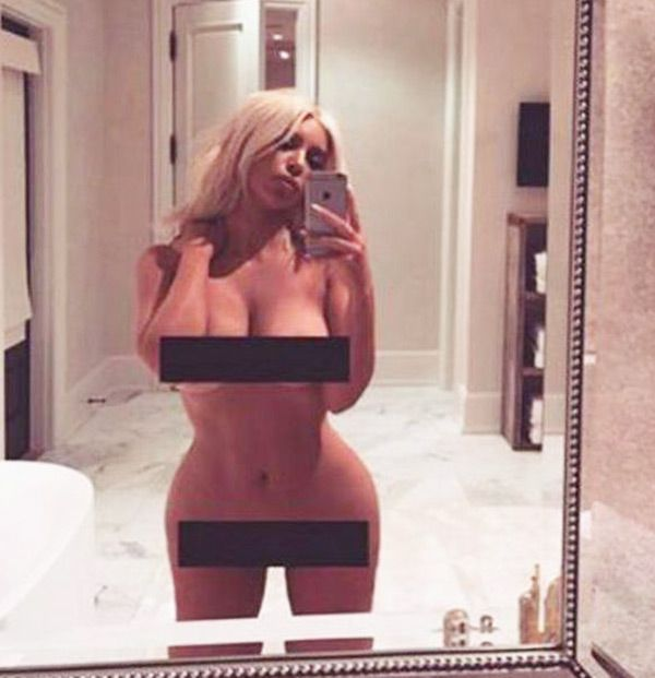 Kim Kardashian's Hottest Selfies Ever — Photos