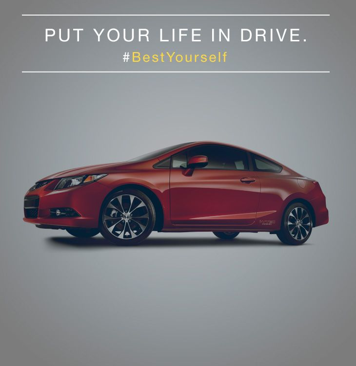 Put your life in drive. #BestYourself