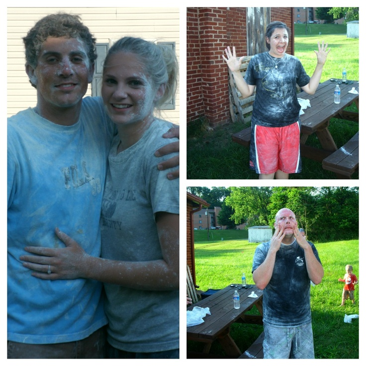 Flour Fight Group Date