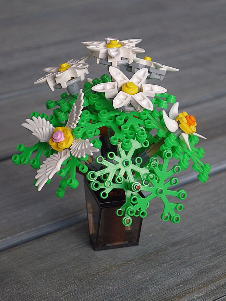 105 Best Lego Flowers Images On Pinterest Lego Flower Lego Ideas