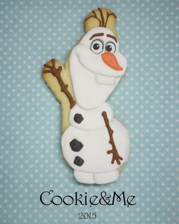 Olaf cookie