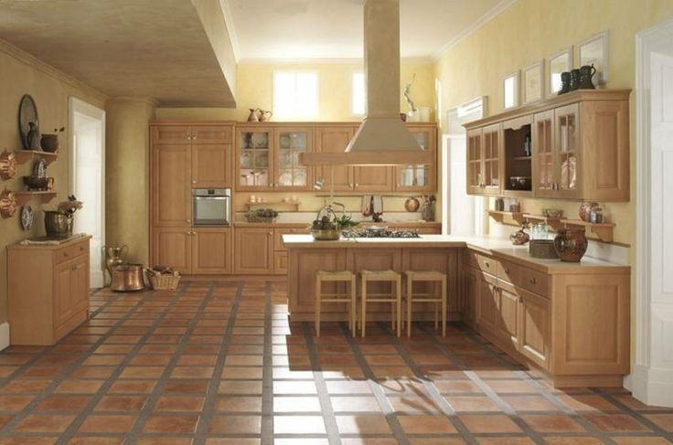 muebles de cocina de madera color beige  Muebles Cocina Decoracion