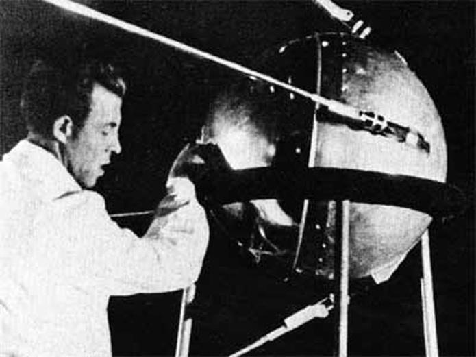 Hoy se cumplen 55 años del lanzamiento, por parte de la URSS, del Sputnik 1, el primer satélite artificial de la historia