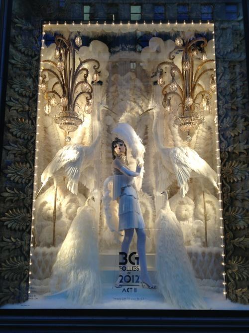 Fashion windows at Bergdorf Goodman