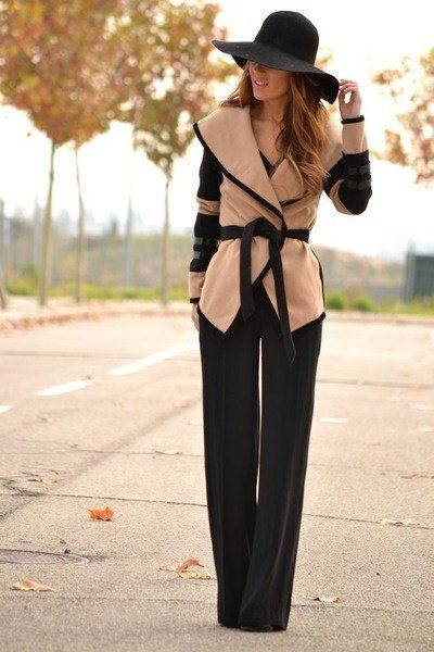 Fall fashion #Spain.  I adore this, think it is so lovely, but would feel like an a** in it and trying to pull this Fabulousness off.