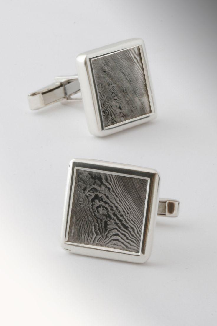 Ezüst és damaszkuszi acél.  Silver and damascus steel