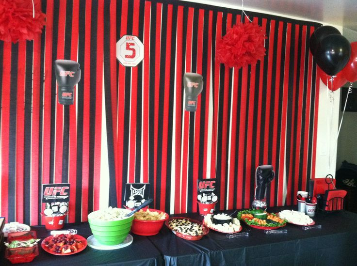 40 Best Oswald Shower Images On Pinterest Boxing Petit Fours And Extraordinary Boxing Party Theme Decorations
