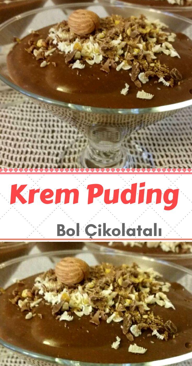 Çikolatalı Krem Puding Tarifi nasıl yapılır? bu tarifin resimli anlatımı ve deneyenlerin fotoğrafları burada. Yazar: melekgokhan
