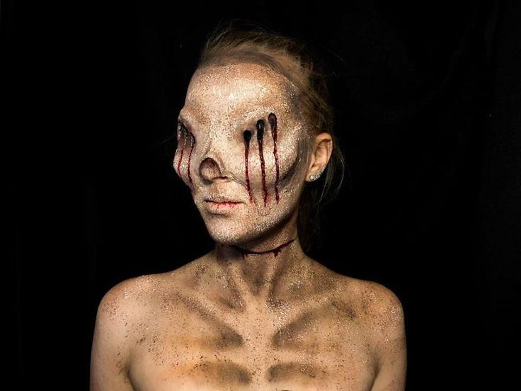 I Make Myself Into Monsters! | 16 Year Old Makeup Artist on BoredPanda