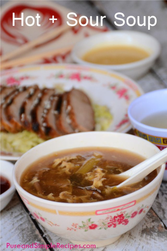 Hot and Sour Soup ~ A satisfying Paleo Chinese Take-out Soup, easily ...