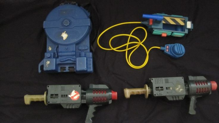 Ghost Buster Proton Packs and Ghost Trap