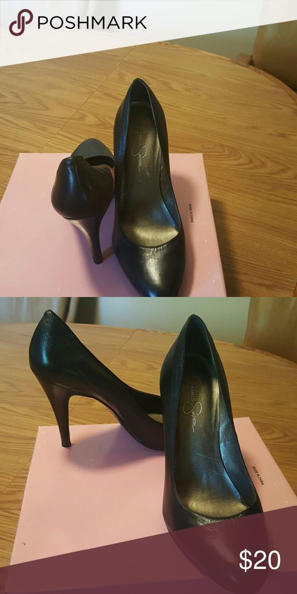 Jessica Simpson Heels Soft Leather Heels Jessica Simpson Shoes