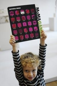 MoMA - Material Bingo