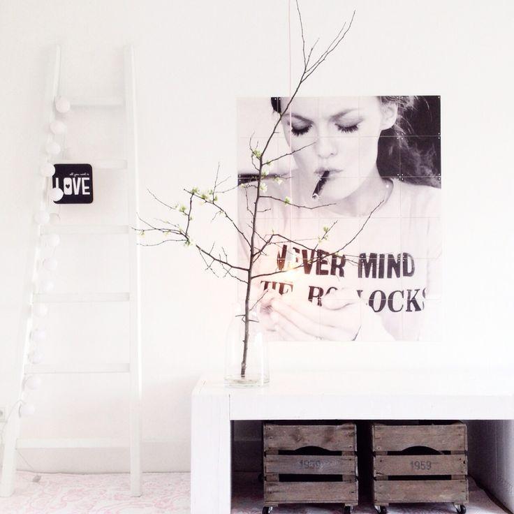 IXXI design on my wall. Instagram: @lekkerfris