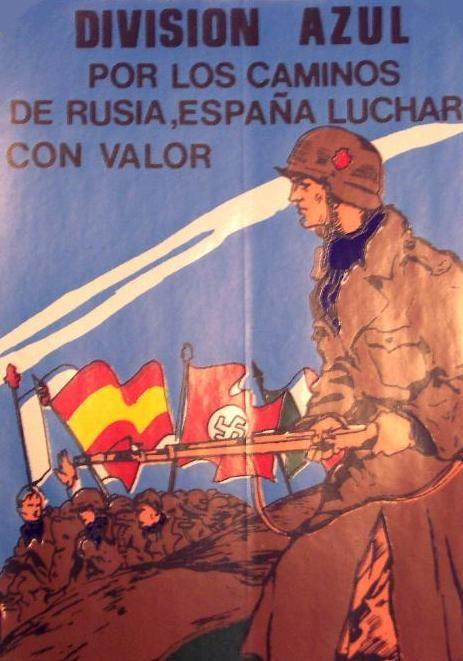 Franco's spainish Legion La Division Azul/Blue Division