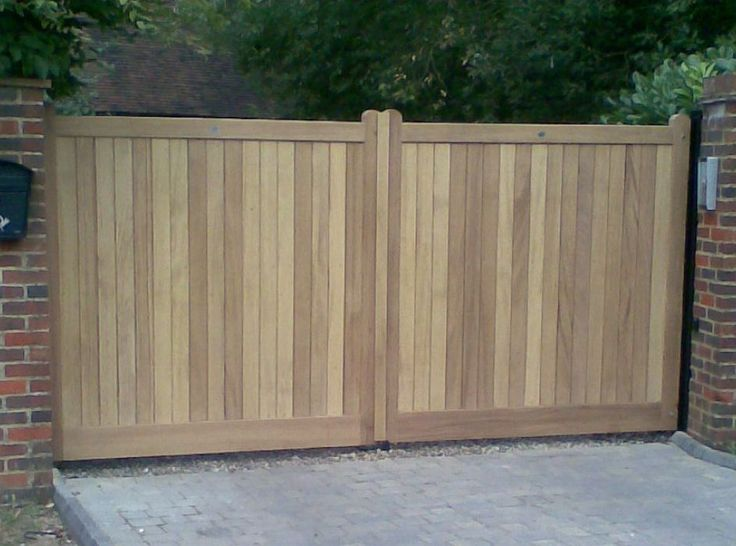 28 best project no 5 images on pinterest home ideas for Single wooden driveway gates