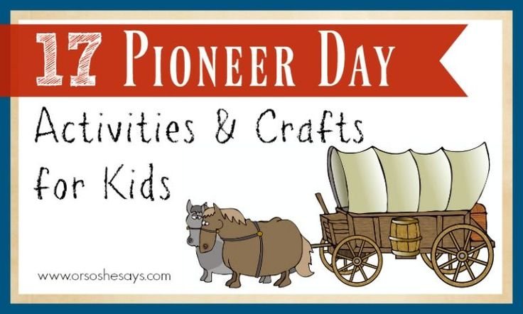 If you're looking for Pioneer Day Activities, then look no more! Mariah has created a roundup of things to do, including crafts and snacks.