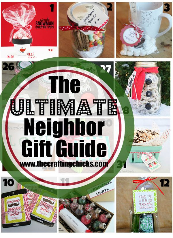 The Ultimate Neighbor Gift Guide. Over 50 great ideas for neighbor and friend gifts this Christmas! Love this list!