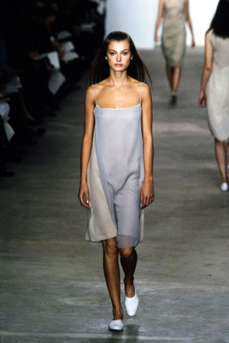 Calvin Klein Assortment Spring 1998 Prepared-to-Put on Trend Present