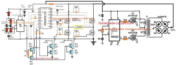 310 V Dc To 220v Ac Converter Circuit