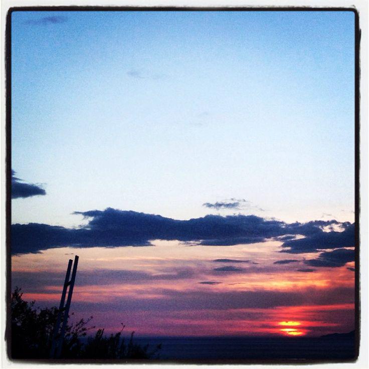 Quando sale il #tramonto #slowsud