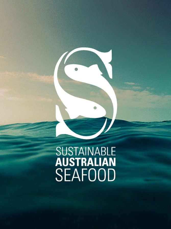 Sustainable Australian Seafood - now that's a cool logo. #sustainableseafood