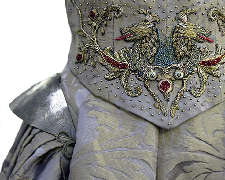 Spectacular Game of Thrones Costume Embroidery by Michele Carragher Imgur
