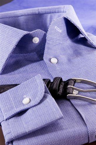 Shirt Color Navy Blue, Pure Cotton Fabric, Texture Mobile, Men's Shirt, Shirt Tailor - $156
