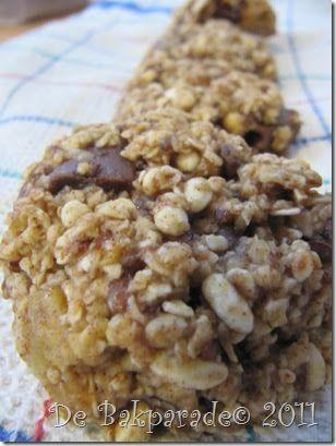 De Bakparade: Havermout Gepofte Rijst Chocolade Koekjes