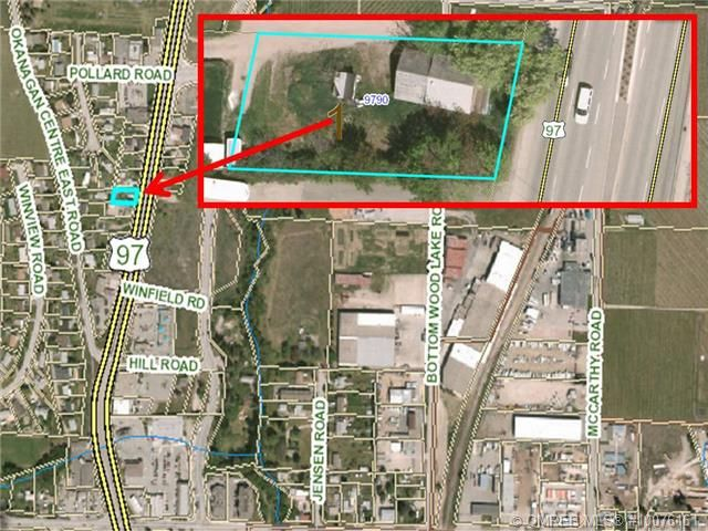 Opportunity Knocks! Excellent holding property located in the heart of Lake Country. Development opportunities awaits. Great highway exposure. OCP may support commercial.