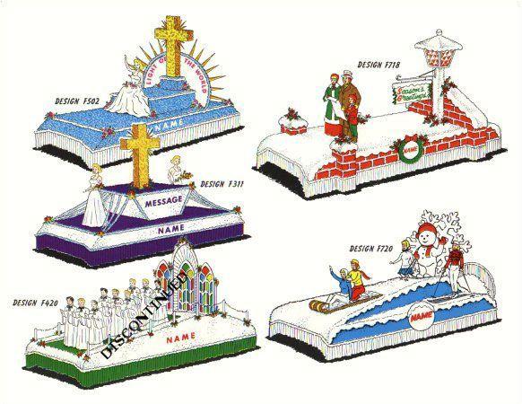 Religious Parade Floats - Holiday Designs - Astro Parade Float Materials Ltd. - Float Kits - Winnipeg Manitoba