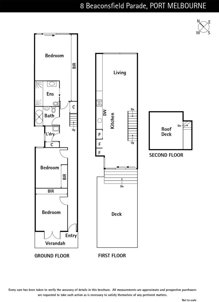 8 Beaconsfield Parade, Port Melbourne, Vic 3207 - floorplan