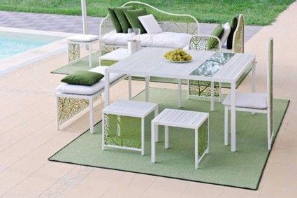 Muebles de jardín inspirados en la naturaleza