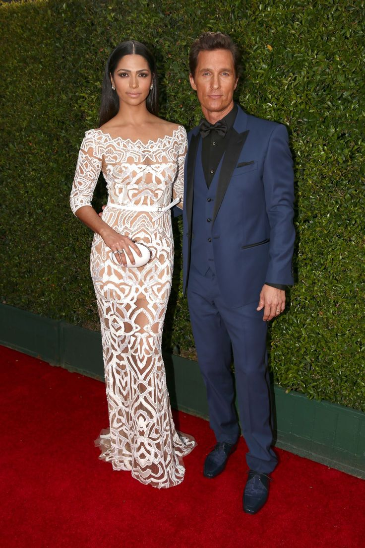 Longtime bachelor Matthew McConaughey tied the knot with model Camila Alves, 32, in Texas in 2012. The couple dated for six years and had two children together before getting married.