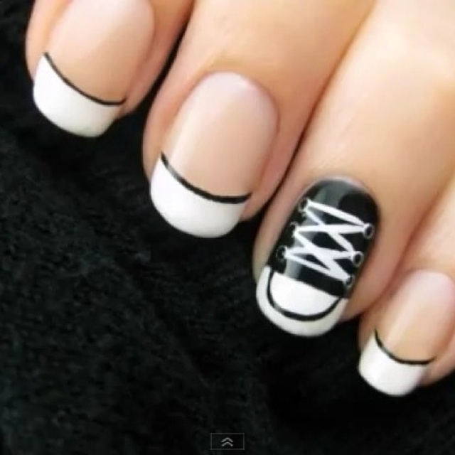 Nail Art Couture Converse Nail Art: 17 Best Images About Converse Style On Pinterest