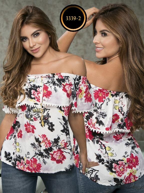 Blusa Moda Colombiana Thaxx - Ref. 119 -3339-2 Rojo