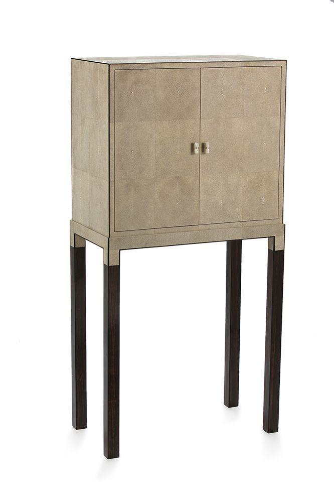 stingray furniture. jewel cabinet safe antique stingray and ebony furniture