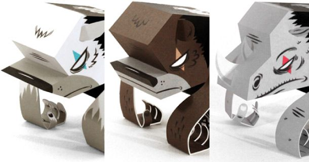 Resultado de imagen para tougui paper toys