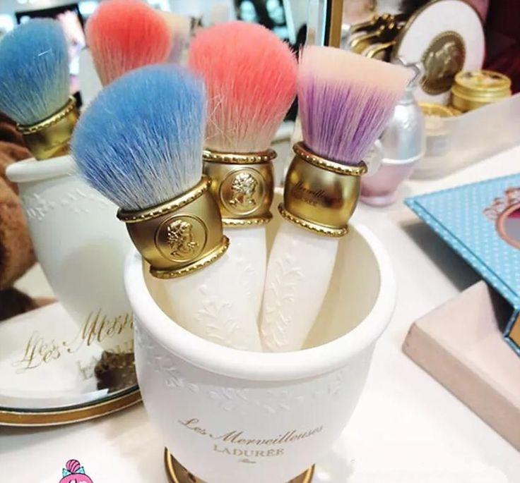 Limited Edition Les Merveilleuses de  LADUREE Makeup Brushes Holder Storage  #Unbranded