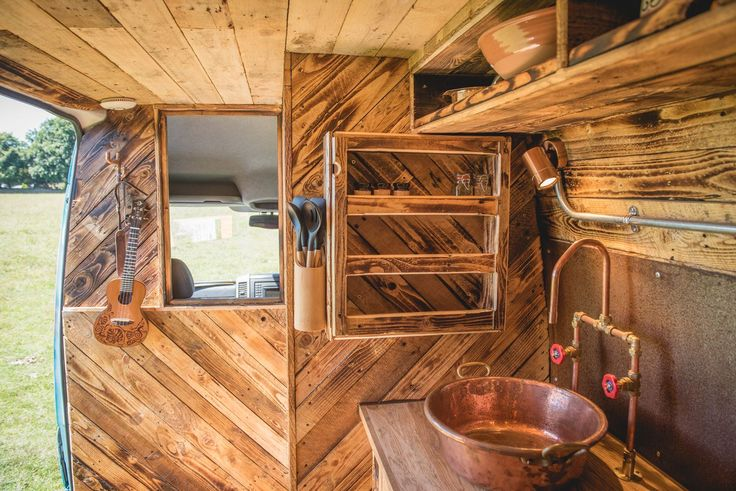 Saffiyah might be the best campervan you've ever seen, with stylish industrial chic, a waterfall shower, capacious kitchen and beds for 3.