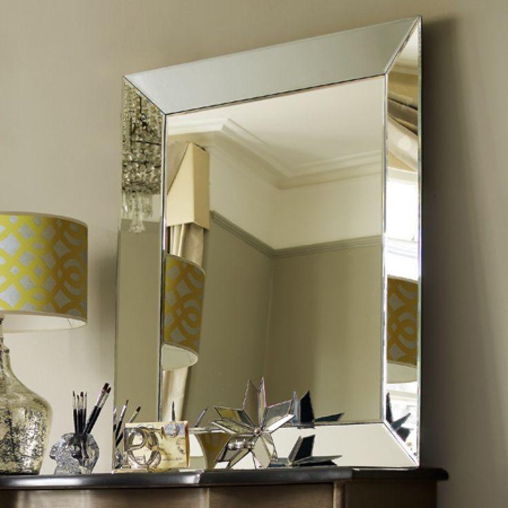 Bathroom Mirrors Beveled Edge beveled edge wall mirror image gallery - hcpr