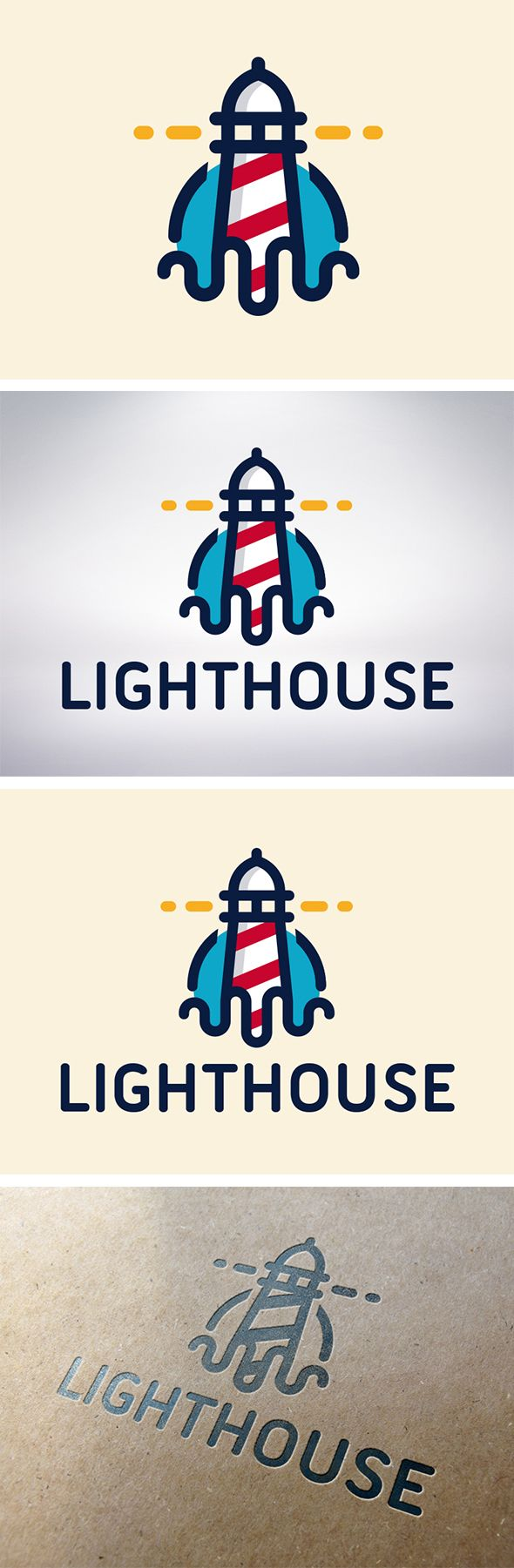 Lighthouse (On Sale Logo) by BossTwinsArt , via Behance -- Curated by : Rapid Printing Kelowna 129-1889 Springfield Road Kelowna,BC V1Y 5V5 (250) 860-2200