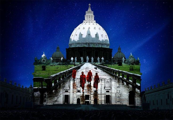 Roma, Giubileo: il grande show di immagini sul Cupolone - 1 di 1 ...