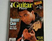 Guitar Player Magazine Vintage 1987 Robert Cray Cover, Sheet Music